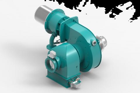 瓦斯气低氮燃烧器