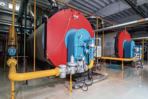 实创文慧园燃气锅炉低氮改造项目