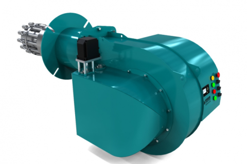 FIR内循环低氮燃烧器