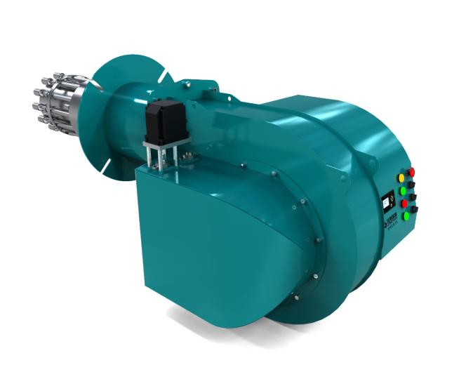 内循环低氮燃烧器