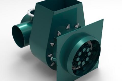 高炉煤气低氮燃烧器